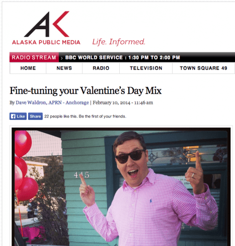 Fine-tuning your Valentine's Day Mix