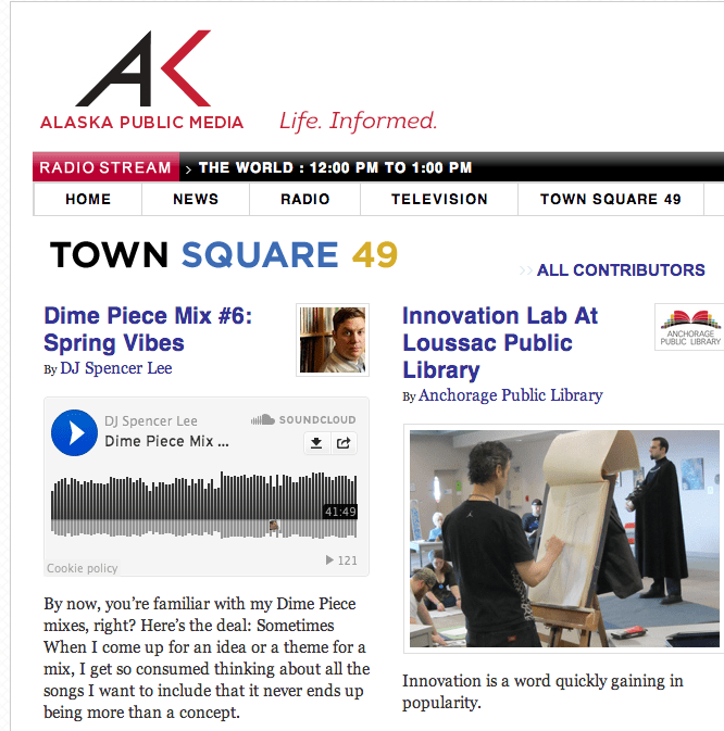 Spring Mix on Townsquare 49