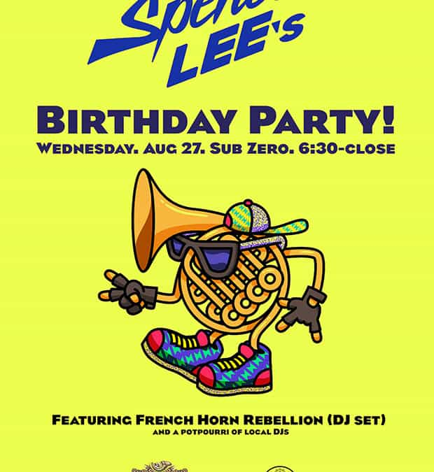 Birthday Party with French Horn Rebellion