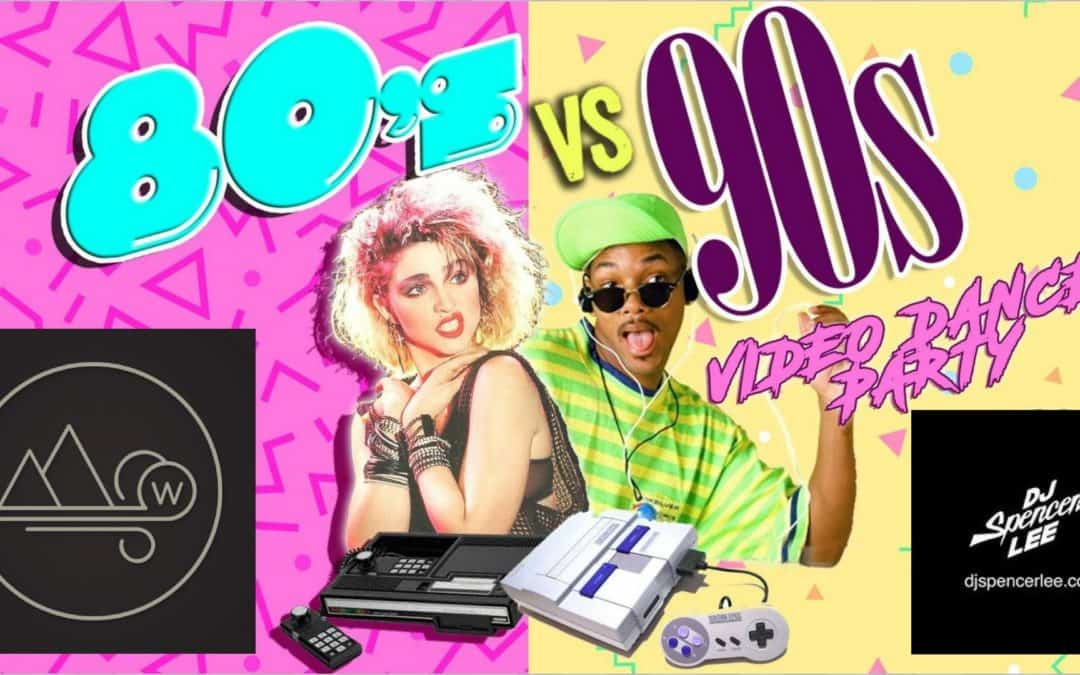 80s Vs 90s Dance Party