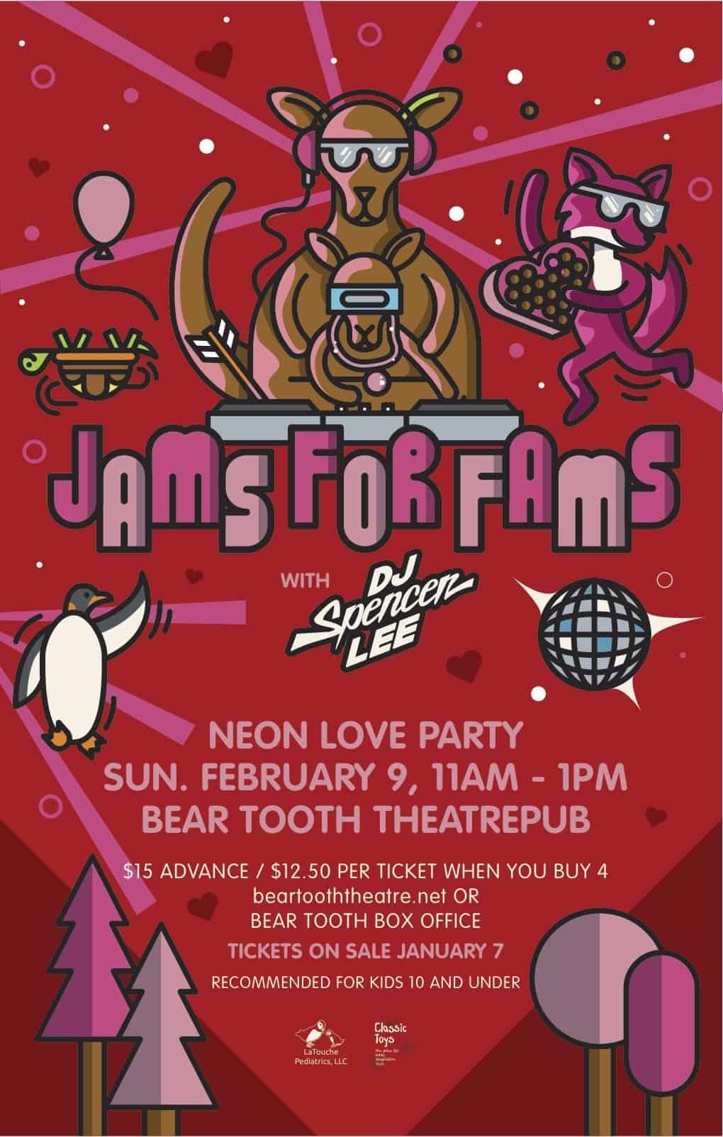 Jams for Fams